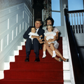 President Kennedy and family at Hammersmith Farm, 1961.png