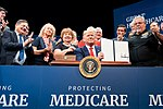 President Trump Delivers Remarks and Signs an Executive Order on Protecting and Improving Medicare for our Nation's Seniors (48842867581).jpg