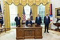 President Trump and The First Lady Participate in an Abraham Accords Signing Ceremony (50346326681).jpg