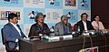 Press Conference by the Film Producer Ashok Amritraj, the Director, IFFI, Shankar Mohan, the President, IDPA, Mike Pandey and the Film Entrepreneur Bhuvan Lal during the 43rd International Film Festival of India (IFFI-2012).jpg