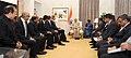Prime Minister Narendra Modi with the Satya Nadella of Microsoft, Sundar Pichai of Google, John Chambers of CISCO, Shantanu Narayen of Adobe and Paul Jacobs of Qualcomm.jpg