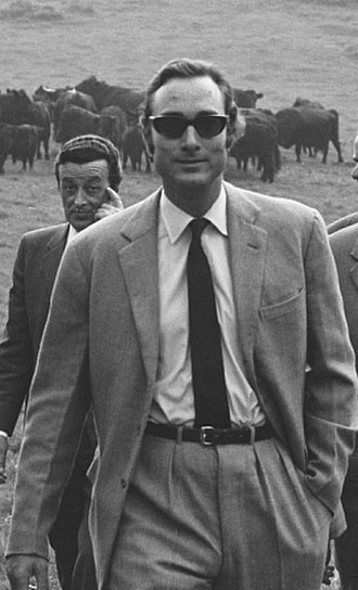 Prince William of Gloucester - Prince William of Gloucester visiting a cattle farm in Wales in 1971