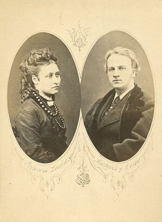 John Campbell, 9th Duke of Argyll - Princess Louise and Lorne engagement