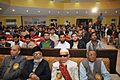 Professor Dr.Shafiullah with notable poets of India in grand mushaira in Jubail KSA-2014.jpg