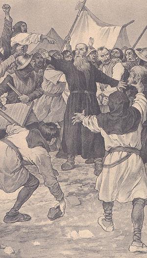 Prokop the Great - Prokop defending himself at the Siege of Pilsen (1433–34)