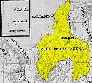 Cartagena Province - Image: Provincia Cartagena