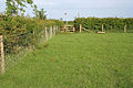 Public footpath off Clay Lane - geograph.org.uk - 439643.jpg