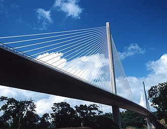 Centennial Bridge, Panama - Image: Puente Centenario 2008 02