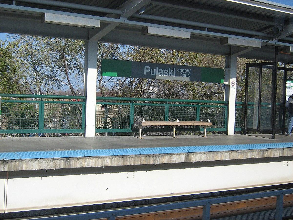 pulaski station cta green line wikipedia. Black Bedroom Furniture Sets. Home Design Ideas