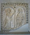 Pulpit Relief with the Annunciation, Tuscany, ca. 1180-1200 (3217910790).jpg