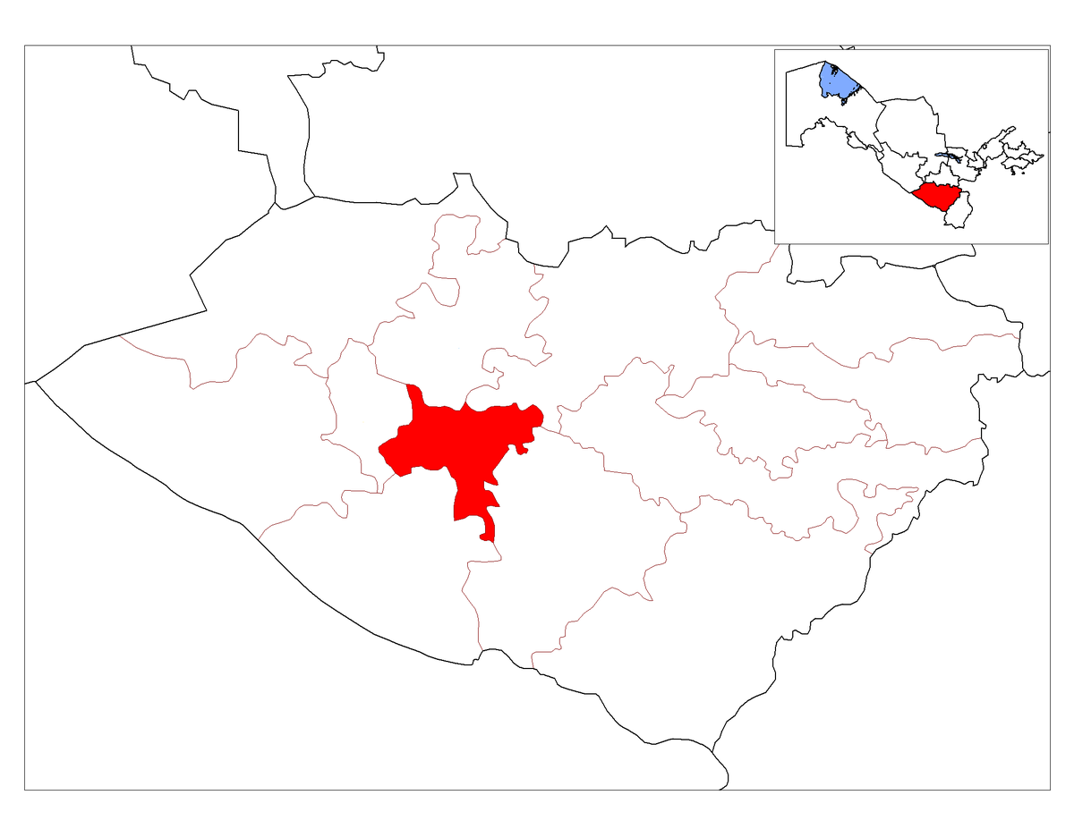 Karshi District Wikipedia