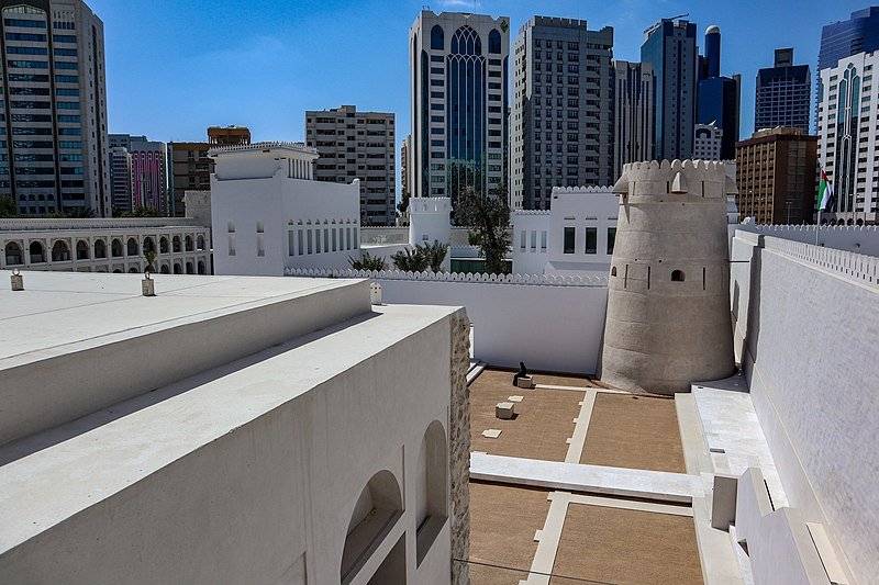 Qasr Al Hosn in Front of skyline.jpg
