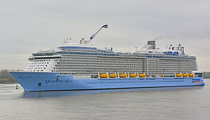 Quantum-class cruise ship - Image: Quantum of the Seas Wedel 04 (cropped)