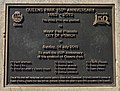 Queen's Park 150th Anniversary plaque, Ipswich, Queensland.jpg