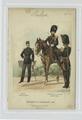 Régiment de grenadiers - Officier (Tenue du jour); Aide-de-Camp et Lieutenant (Grande tenue). 1883 (NYPL b14896507-88539).tiff