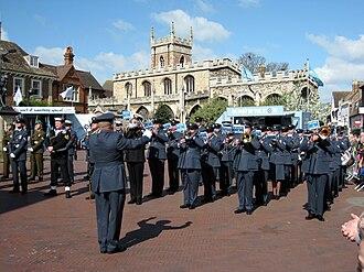 RAF Voluntary Bands - Image: RAF Wyton band