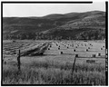 RANCH LANDS IN PROVO RIVER VALLEY. VIEW TO WEST. - Jordanelle Valley, Heber City, Wasatch County, UT HABS UTAH,26-HEBCI.V,1-22.tif