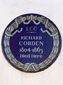RICHARD COBDEN 1804-1865 Died Here.jpg