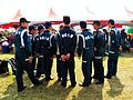 ROCA Dragon Team Photoed with Civilian in ROCA Infantry School 20120211.jpg