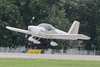 Van's Aircraft RV-12 - Image: RV 12 Flare