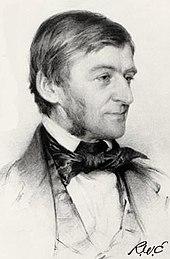Portrait de Ralph Waldo Emerson jeune.