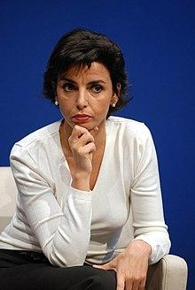 Rachida Dati, le 23 avril 2007.