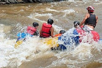 Suárez River - Image: Rafting San Gil Río Fonce