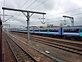 Railway track at Cambridge Station - geograph.org.uk - 1853697.jpg