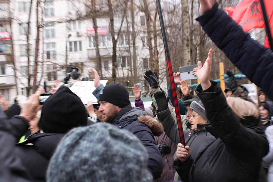 Rally for the termination of construction and restoration of the square (2018;11;17) 88.jpg