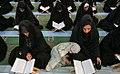 Ramadan 1439 AH, Qur'an reading at Musalla of Tabriz - 22 May 2018 15.jpg