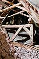 Rammekonstruktion i Vissenbjerg Kirkes spir foto Arnold Mikkelsen Nationalmuseet.jpg
