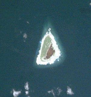 Rawaki Island - Rawaki or Phoenix Island. Image Courtesy of Image Science and Analysis Laboratory, Johnson Space Center