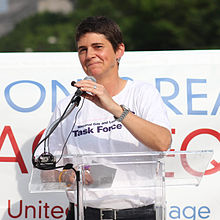 Rea Carey at Decision Day Marriage Equality rally in Freedom Plaza (9194045525-cropped).jpg