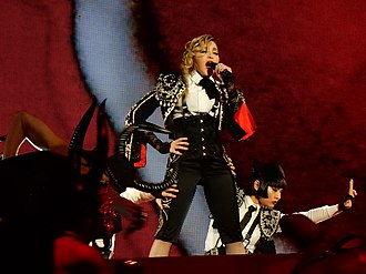 Living for Love - Image: Rebel Heart tour 2016 Melbourne 1 (26013483270)