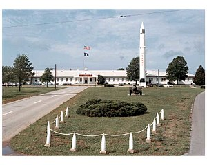 Redstone Arsenal - Image: Redstone Arsenal bldg 7101 04