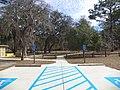 Reed Bingham State Park miniature golf parking area.JPG