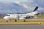 Regional Express Airlines (VH-RXN) Saab 340B taxiing at Wagga Wagga Airport (1).jpg