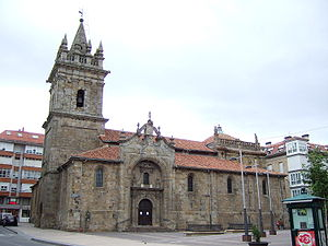 Reinosa - Church of San Sebastián (16th century).
