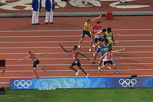 4×400 metres relay at the Olympics - The 2008 Olympic men's 4×400 m relay final