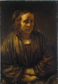 Rembrandt - Portrait of Hendrickje Stoffels - Hendrickje Stoffels - 1659.jpg