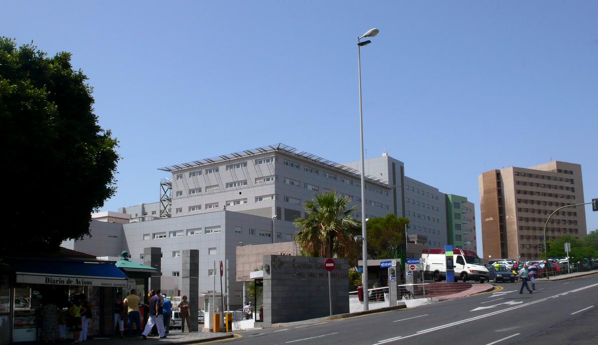 Resultado de imagen de hospital la candelaria tenerife