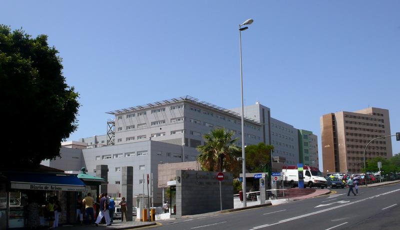 Hospital Nuestra Señora de Candelaria, Santa Cruz de Tenerife, Canarias