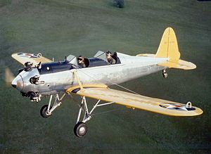 Restored Ryan NR-1 trainer in flight.jpeg