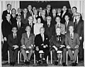 Retirement Fund Board of Trustees group photo, including Louis Stulberg, David Dubinsky, Luigi Antonini, Charles Zimmerman, Angela Bambace, Sol Chaikin, Frederick Siems, Martin Cohen and others, October 14, 1965 (5278446603).jpg
