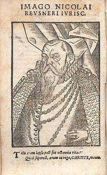 Selbstbildnis in einem seiner Werke (Quelle: Wikimedia)