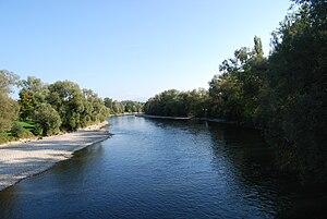 Merenschwand - Reuss river in Rickenbach