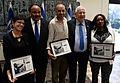 Reuven Rivlin with Martin Luther King III, Pnina Tamano-Shata, Idan Raichel and Anat Saragusti.jpg