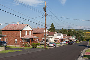 Cambria Township, Cambria County, Pennsylvania - Highland Avenue in Revloc