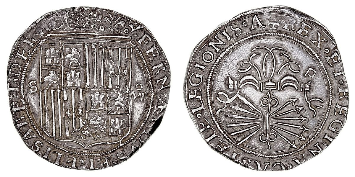 photograph regarding Large Printable Coins known as Spanish greenback - Wikipedia