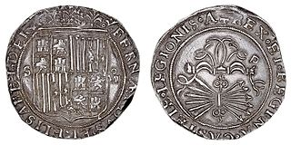 Former coin of the Spanish Empire
